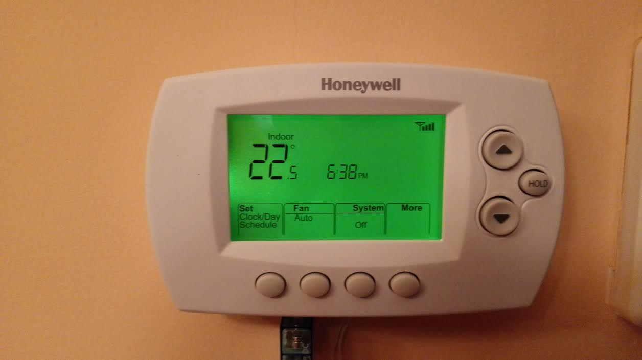 Instalaci n de un termostato americano aire - Termostato para calefaccion ...