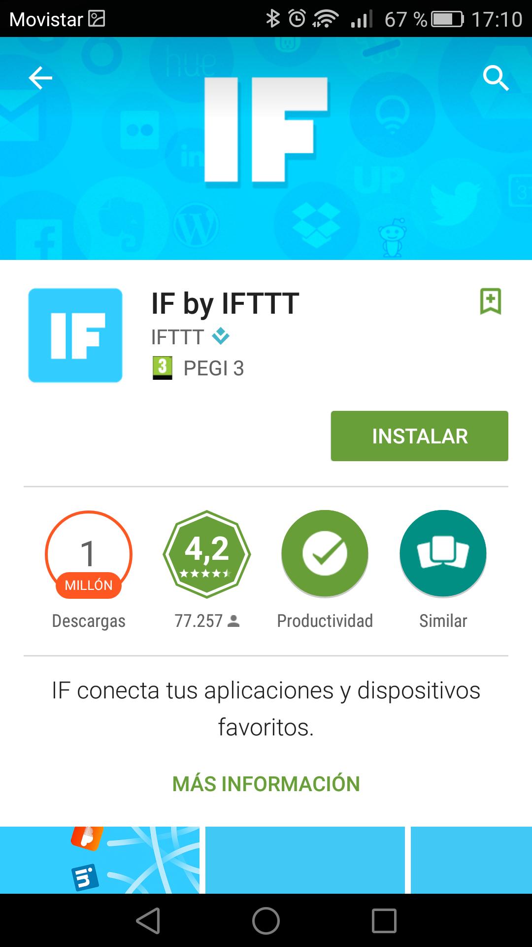 IFTTT Google Play