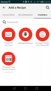 Canales Honeywell